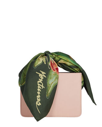 Mini Guaria Silk Scarf Handle Bag, PALE PINK, hi-res