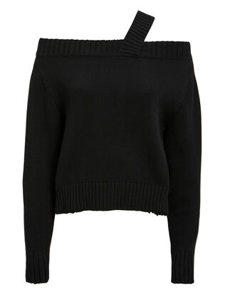 Beckett Black Sweater, BLACK, hi-res