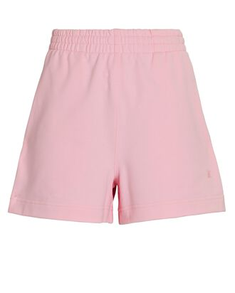 Cotton Terry Sweat Shorts, PINK, hi-res