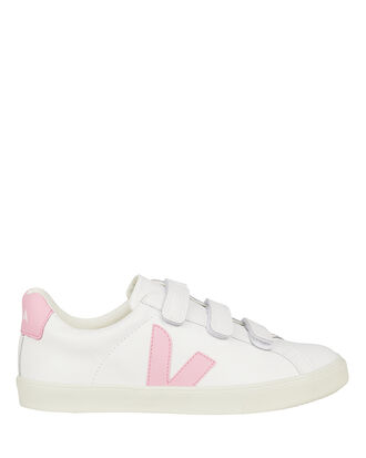 V-Lock Pink Low-Top Sneakers, WHITE/PINK, hi-res