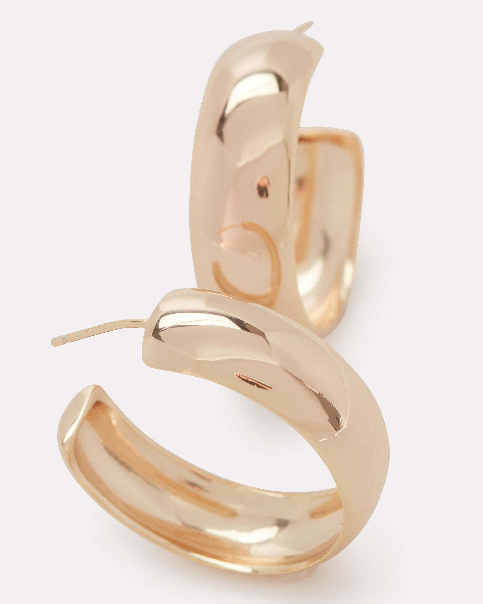 Oro Vermeil Hoop Earrings, , hi-res