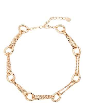 Chandini Chain Link Necklace, GOLD, hi-res