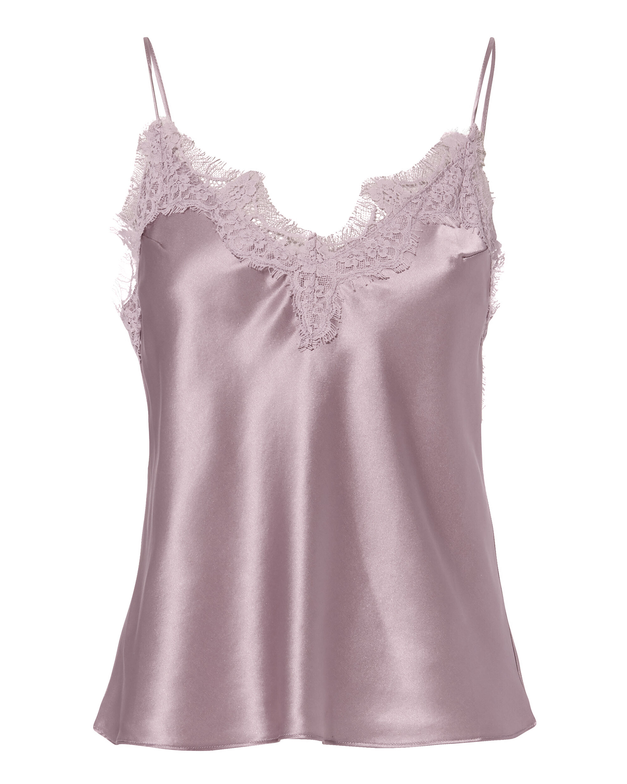 Lace-Trimmed Cami, PINK, hi-res