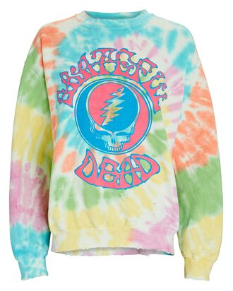 Grateful Dead Tie-Dye Sweatshirt, MULTI, hi-res