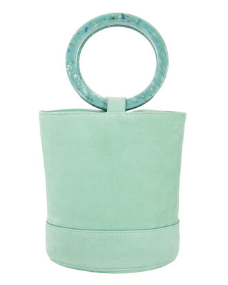 Bonsai Blue  Bucket Bag, BLUE-LT, hi-res
