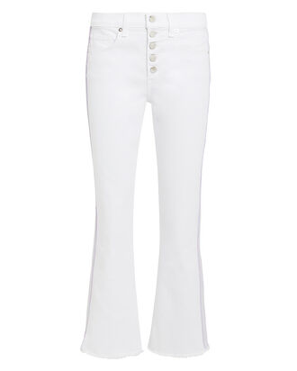 Carolyn Cropped Baby Boot Jeans, WHITE DENIM, hi-res