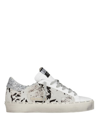 Hi Star Calf Hair Sneakers, BLACK/WHITE, hi-res