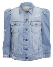 Ada Cropped Denim Jacket, DENIM-LT, hi-res