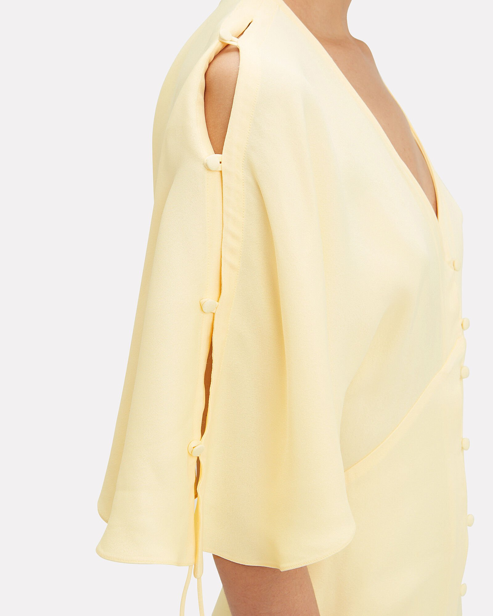 Hedy Dress, YELLOW, hi-res