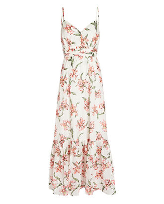 Cristiana Floral Print Maxi Dress, MULTI, hi-res
