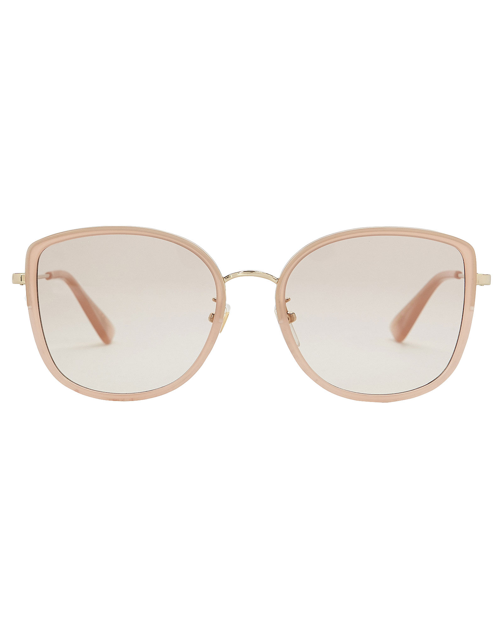 Havana Rounded Cat Eye Sunglasses, ROSE, hi-res