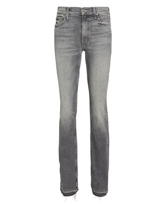 The Rascal Split Hem Jeans, GREY, hi-res