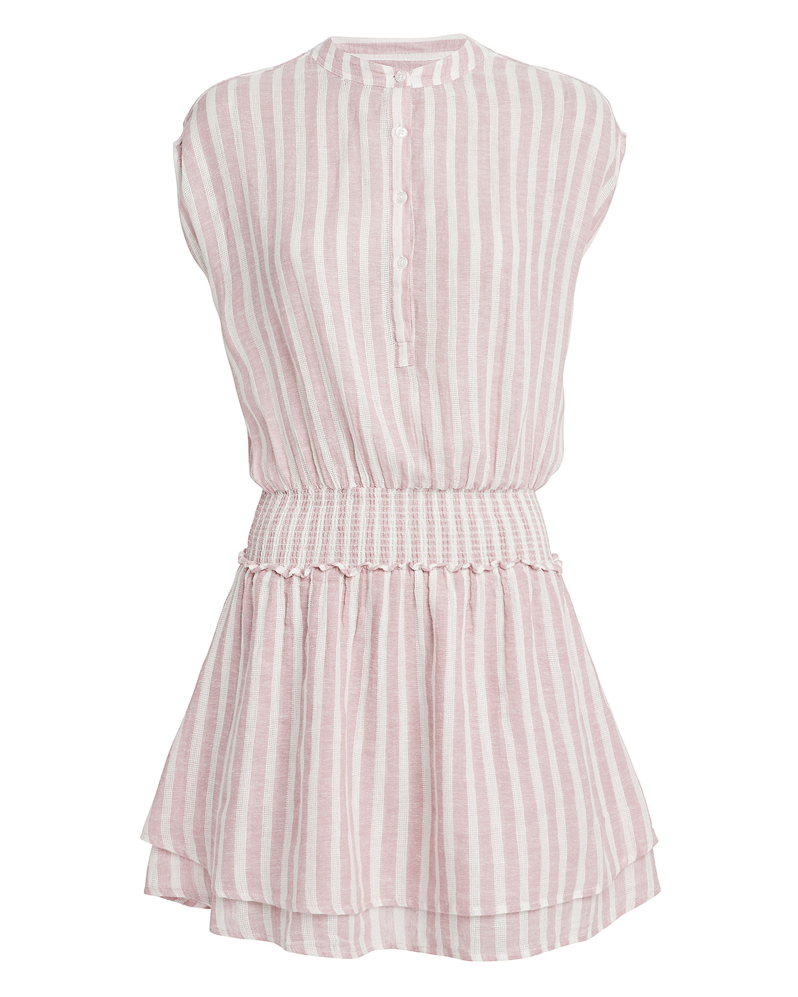 Angelina Linen Dress, MULTI, hi-res