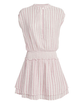 Angelina Mini Dress, LIGHT STRIPE, hi-res