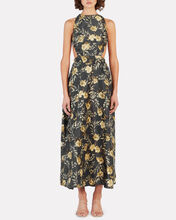 Carmen Floral Print Maxi Dress, MULTI, hi-res