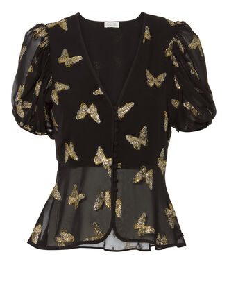 Jordan Lurex Butterfly Top, BLACK, hi-res