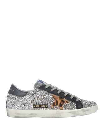 Superstar Glitter Low-Top Sneakers, , hi-res