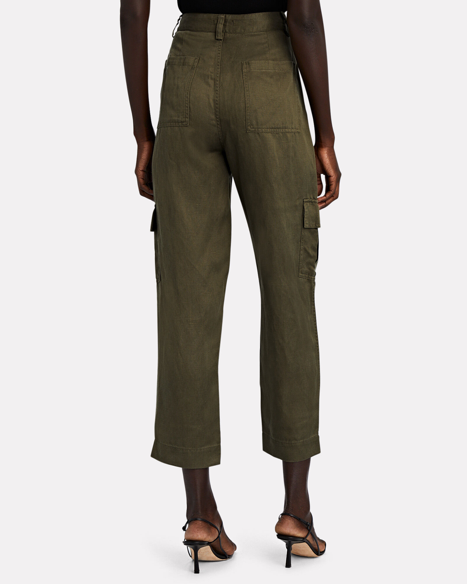 Straight-Leg Cargo Pants, OLIVE/ARMY, hi-res