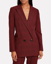 Samba Checked Suiting Blazer, MULTI, hi-res