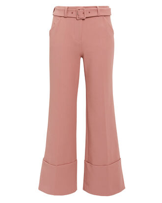 Cropped Rose Pants, ROSE, hi-res