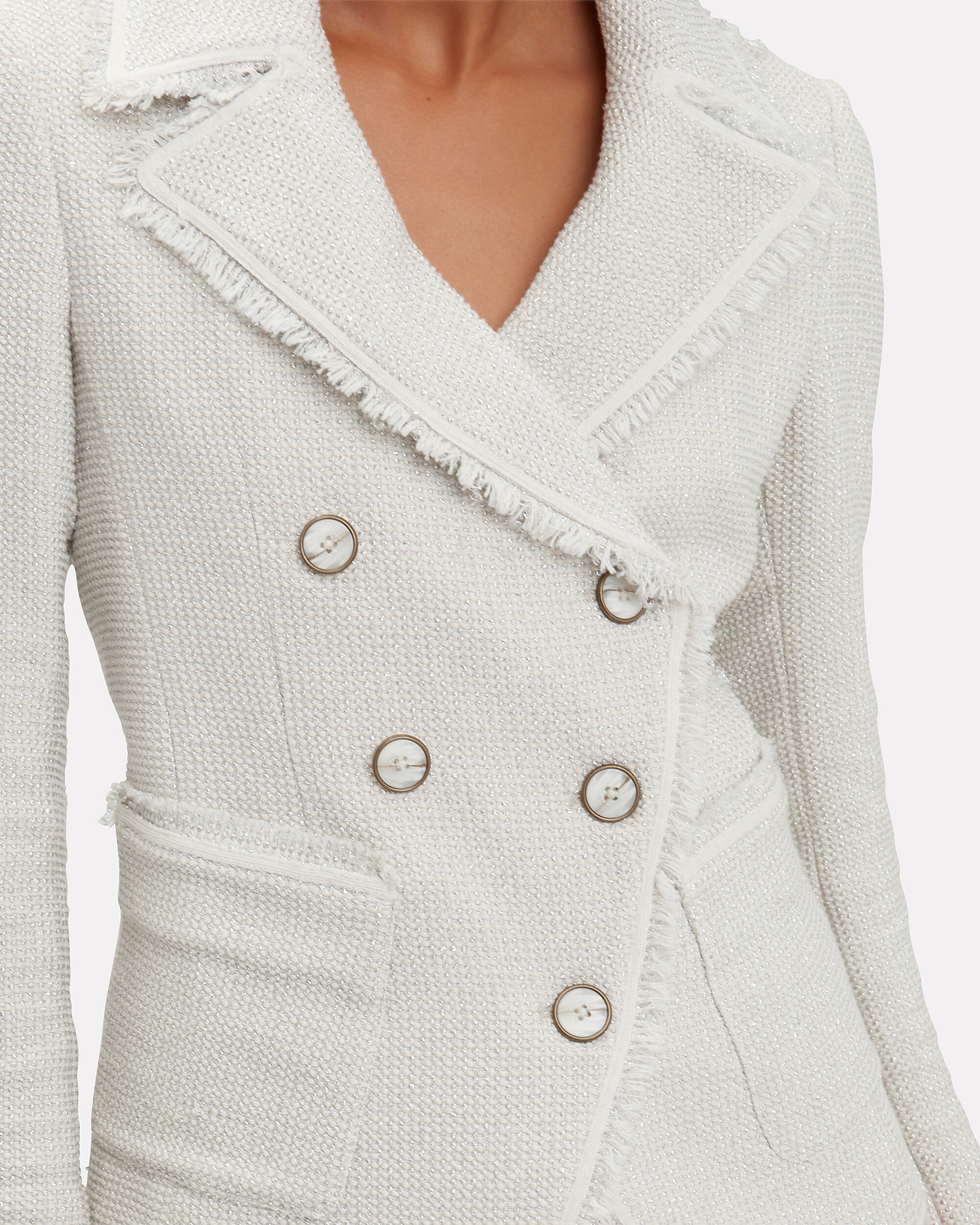 Carrol Jacket, SILVER, hi-res