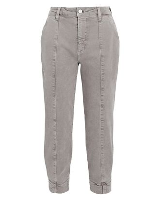 Paloma Cropped Jogger Jeans, BEIGE, hi-res