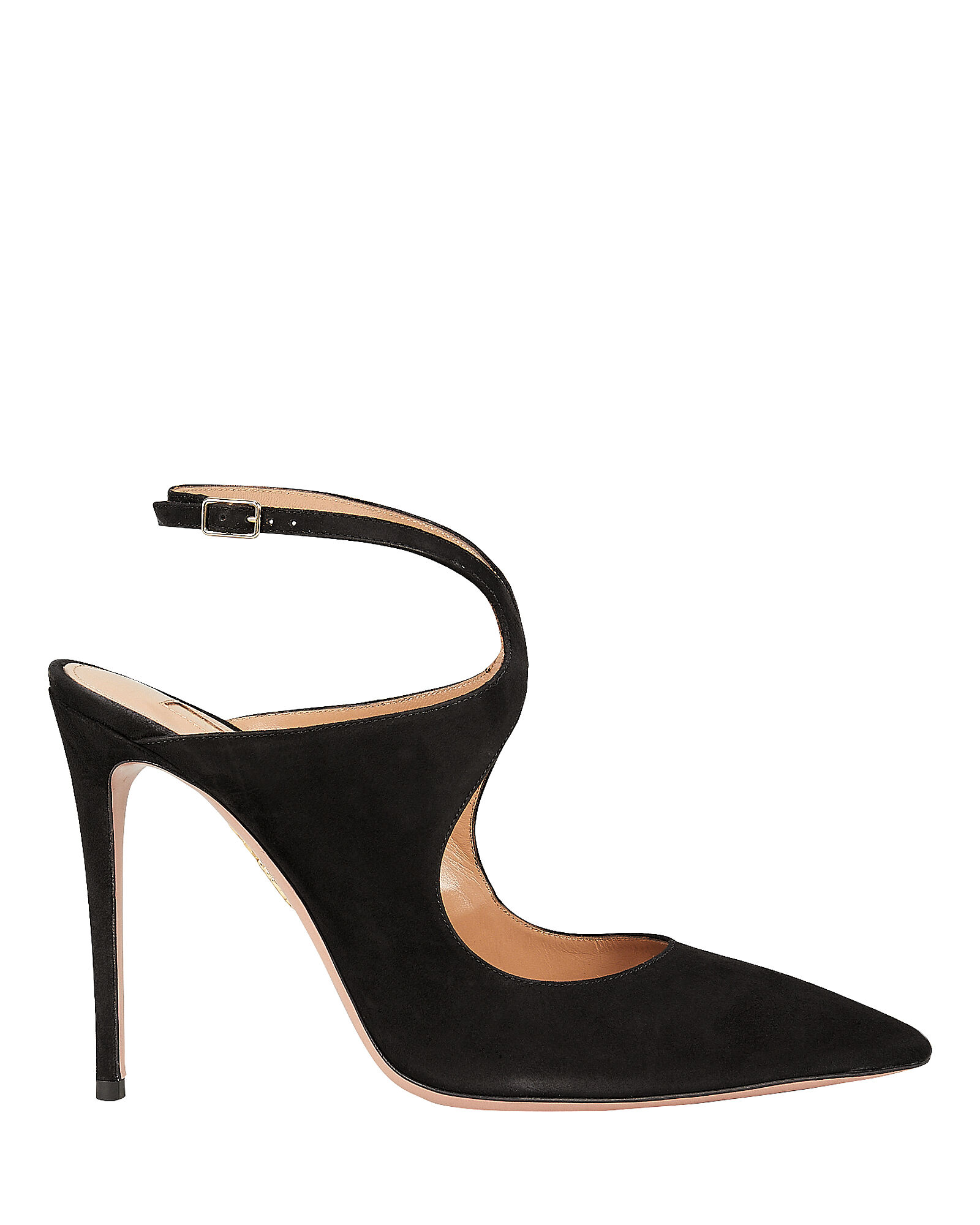 Talana Suede Pumps, BLACK, hi-res