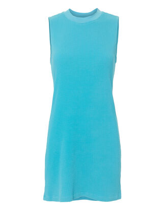 The Monaco Thermal Mini Dress, BLUE-LT, hi-res