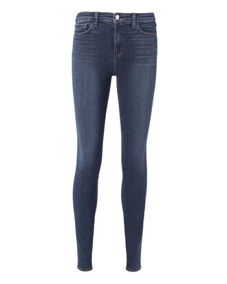 Marguerite Dark Vintage High-Rise Skinny Jeans, DARK DENIM, hi-res