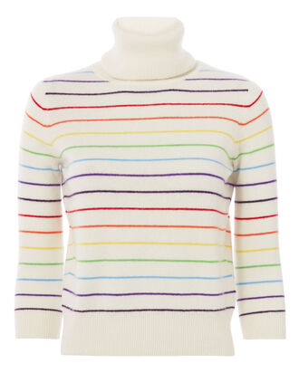 Cuckoo Rainbow Stripes Sweater, PATTERN, hi-res