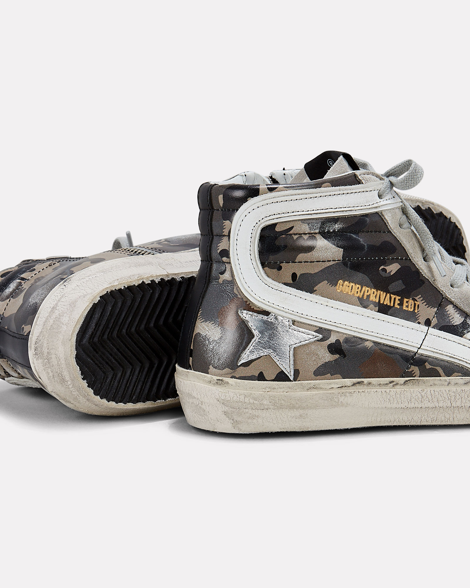 Slide Camo High-Top Sneakers, OLIVE/ARMY, hi-res