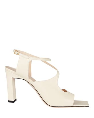 Blair Square Toe Strappy Sandals, IVORY, hi-res