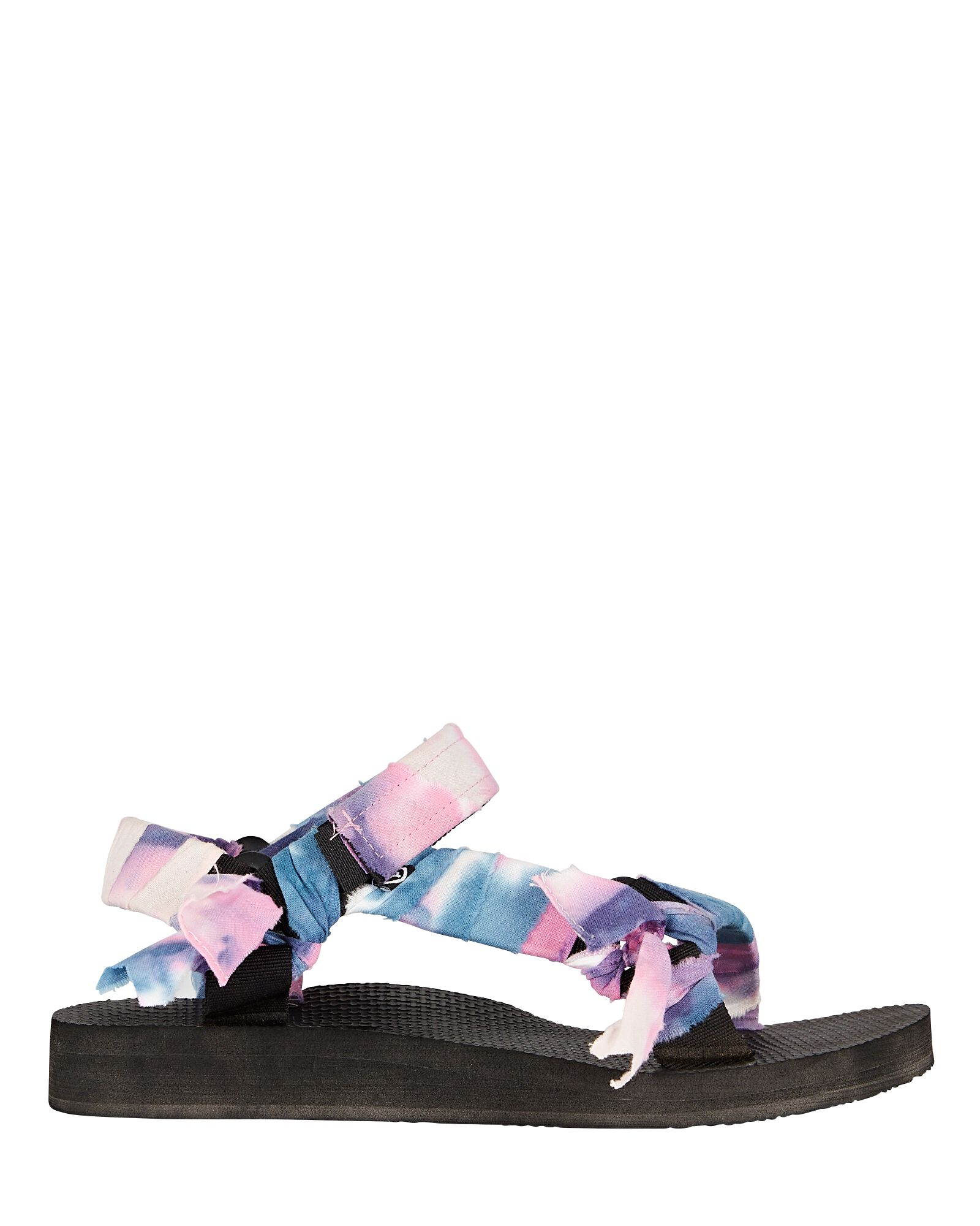 Trekky Tie-Dye Knotted Sandals, MULTI, hi-res
