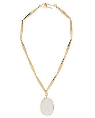 Theia Crystal Pendant Necklace, GOLD, hi-res