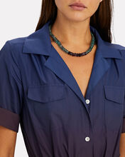 Blue Crush Beaded Necklace, BLUE-LT, hi-res