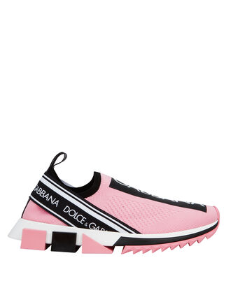 Branded Sorrento Low-Top Sneakers, PINK, hi-res