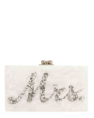 Jean Mrs. Clutch, WHITE, hi-res