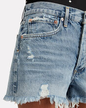 Parker Cut-Off Denim Shorts, DENIM, hi-res