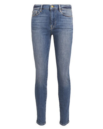 Le Skinny De Jeanne Jeans, MEDIUM WASH DENIM, hi-res