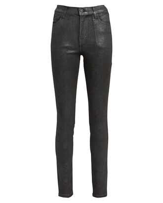 Maria Coated Skinny Jeans, COATED SILVER, hi-res