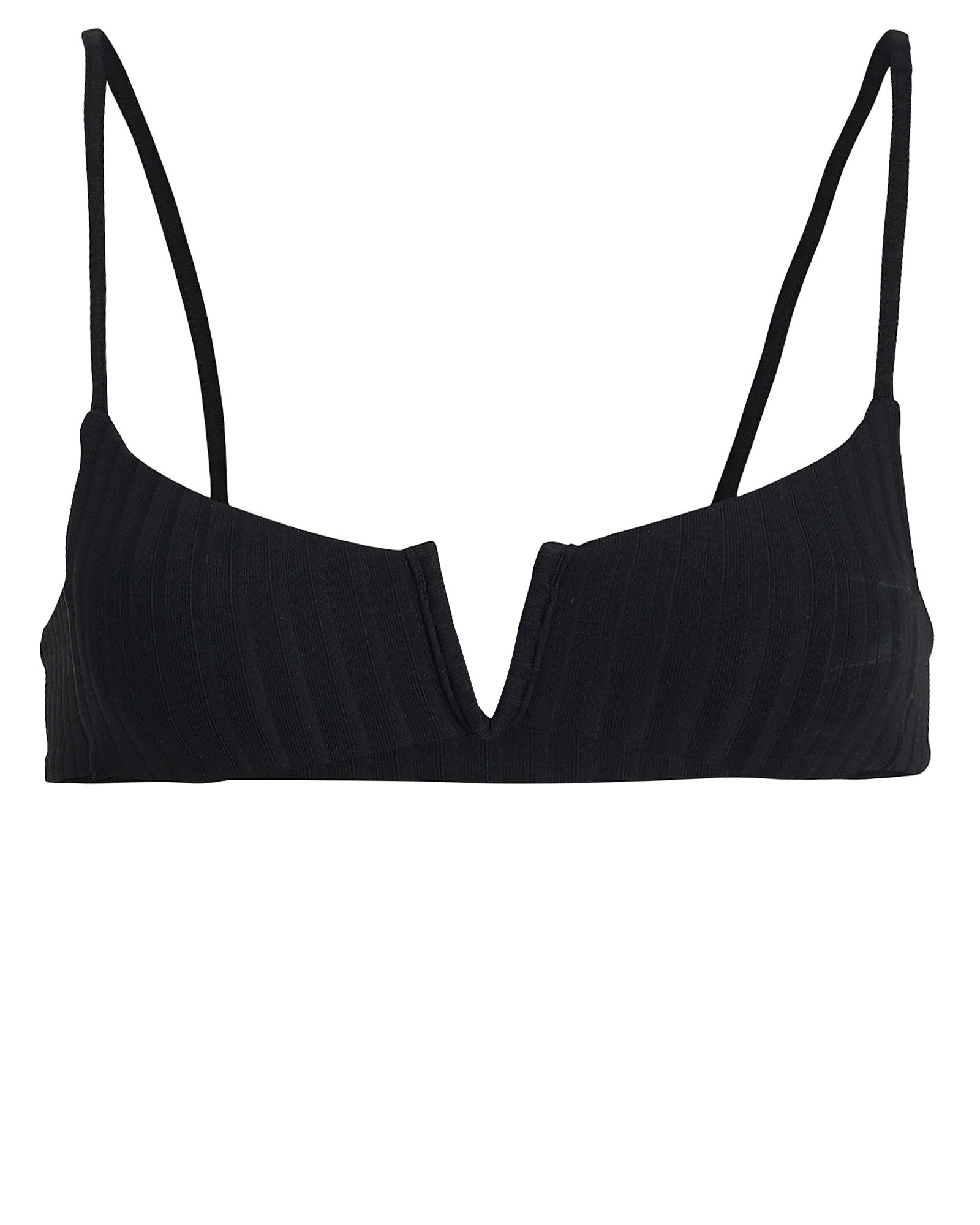 Can't Stop Bandeau Bikini Top, BLACK, hi-res