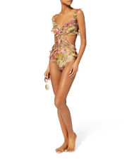 Melody Frill One Piece Swimsuit, MULTI, hi-res