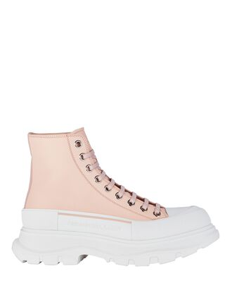 Tread Slick Lace-Up Leather Boots, BLUSH, hi-res