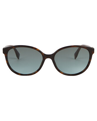 Havana Cat Eye Sunglasses, BROWN, hi-res