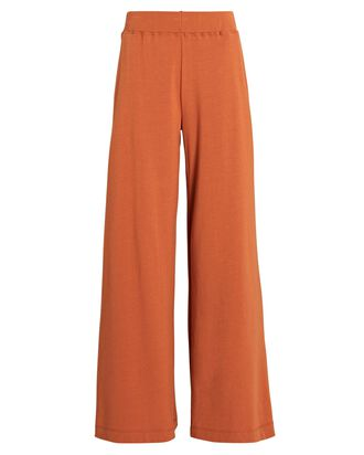 The Campbell Wide-Leg Pants, ORANGE, hi-res