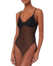 Sweet Nothing Bodysuit, BLACK, hi-res