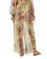 Melody Wide Leg Pants, MULTI, hi-res
