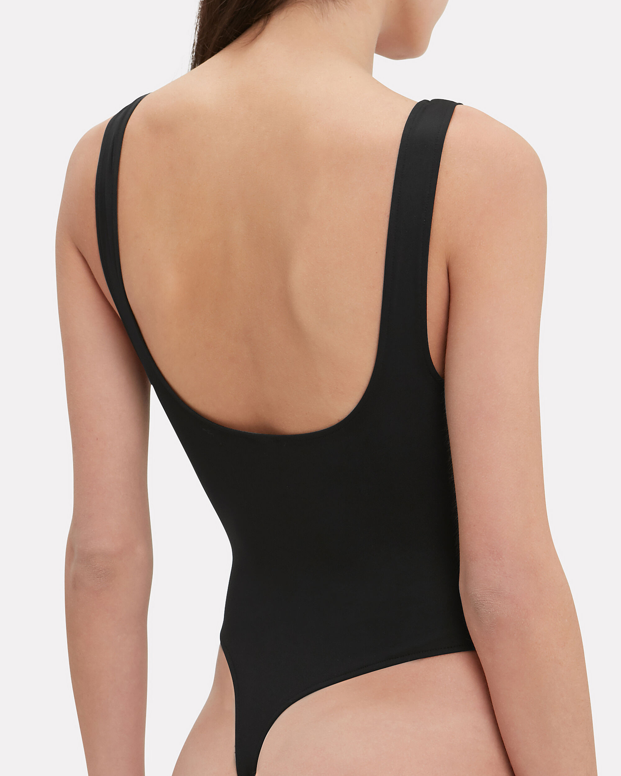 Tank Top Bodysuit, BLACK, hi-res