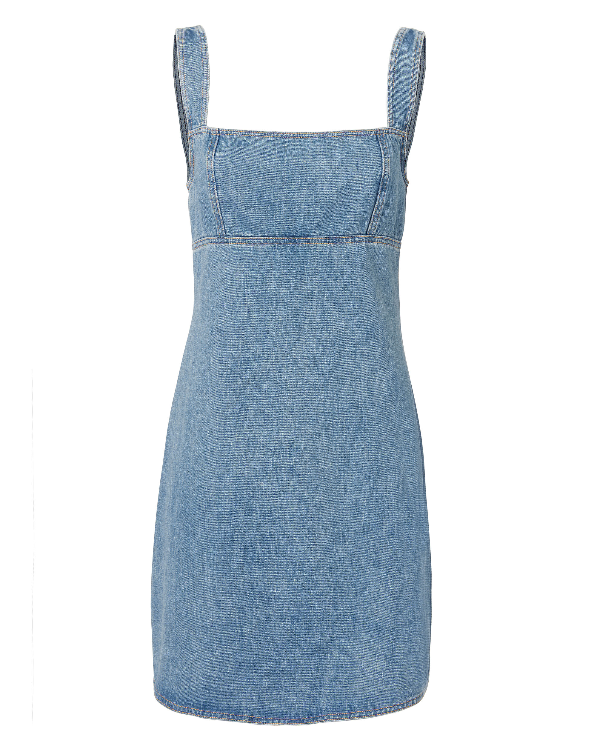 Paula Dress, MEDIUM BLUE DENIM, hi-res