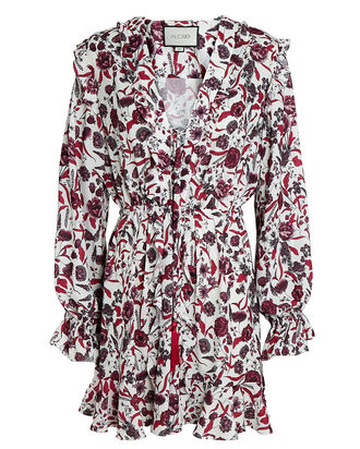Kosma Floral Mini Dress, MULTI, hi-res